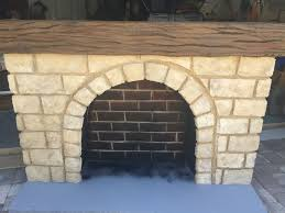 Fireplace Base Stone Stone Fireplace For Theatre Prop 5 Steps
