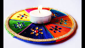 diwali special beautiful u0026 easy decorative candle light to make