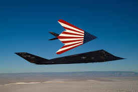 American Flag On Ground The F 117 Is Still Flying But Why Intercepts Defense News