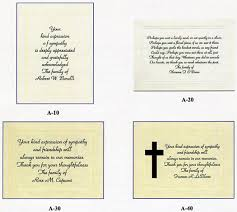 sympathy card wording sympathy acknowledgement and thank you cards with custom messages
