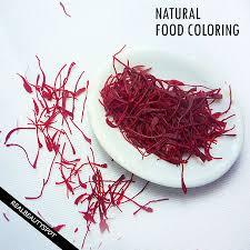 to make natural food coloring