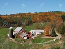 vermont farmhouse a classic vermont farm in the fall stock photo picture and