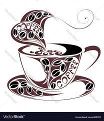 coffee cup design royalty free vector image vectorstock