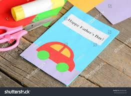 happy fathers day greeting card colored stock photo 640262506