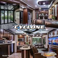 Cyclone 4200 Floor Plan Heartland Rvs Cyclone 3600 Luxury Toyhauler Https Www
