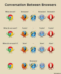 Meme Browser - conversation among browsers weknowmemes