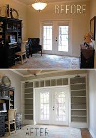 Ceiling Bookshelves by Diy Turn A Dull Wall Into An Impressive Floor To Ceiling Bookcase