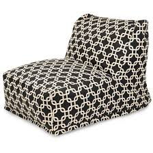 Bean Bag Furniture by Modern Chairs Lounge Furniture Patio Bean Bags Majestic Home