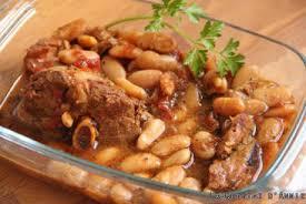 cuisiner des haricots blancs secs recettes plat moutons et agneaux ragoût de mouton aux haricots