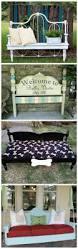 Diy Repurposed Furniture Ideas Best 20 Refurbished Headboard Ideas On Pinterest Old Benches