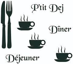 couverts cuisine stickers cuisine couverts tasses mots deco cuisine destock