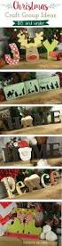 christmas crafts wooden letters great craft group ideas or