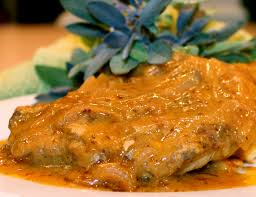 Smothered Lamb Chops Smothered With Love Pork Chops W Onion Gravy Kitchen Encounters