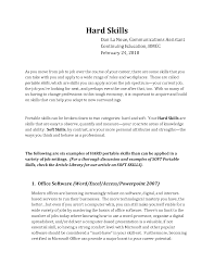 Resume Additional Skills Examples Interesting Resume Ideas For Computer Skills With Puter Skills