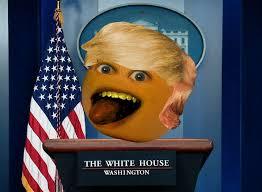 president annoying the annoying orange your meme