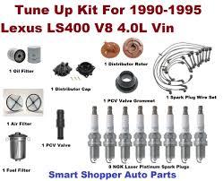 lexus v8 oil tune up kit for 1990 1995 lexus ls400 spark plug air filter pcv