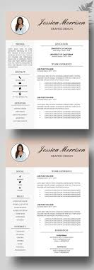 creative resume template free 18 best kickresume templates gallery resume sles resume
