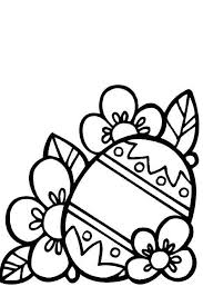 Easter Flower Coloring Pages - 36 best easter coloring pages images on pinterest easter