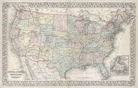 Pics Of Maps Of The United States by File 1867 Mitchell Map Of The United States Geographicus