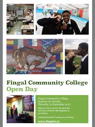 fingal comm college on our open day is on sept 14th to