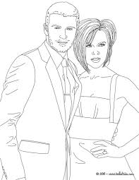 david and victoria beckham coloring pages hellokids com