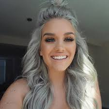 silver hair extensions best 25 silver hair extensions ideas on grey hair