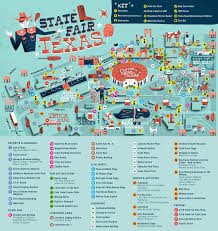 Map Of The State Of Texas State Fair Of Texas Map Adriftskateshop