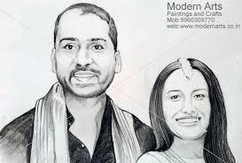 pencil sketch artist mumbai portrait painting artist mumbai