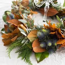 fresh wreaths magnolia leaf wreath door wreaths for fall thanksgiving wreath