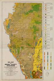 Wisconsin County Map by Wisconsin Geological U0026 Natural History Survey Soil Survey Of