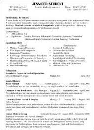 Sample Resume For Housekeeping Job In Hotel by Free Resume Templates Samples Of A Sample Housekeeping Resumes