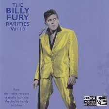 the official billy fury web site merchandise