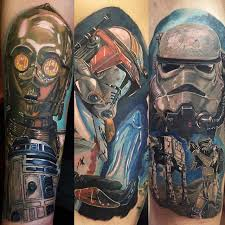 characters of star wars tattoos best tattoo ideas gallery