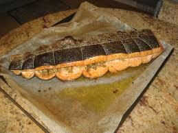 cuisiner du saumon au four saumon au four façon samake harra la cuisine chez nous