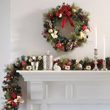 cordless led wreath and garland wreaths garland swags