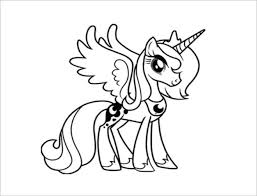 20 pony coloring pages u2013 free word pdf jpeg png