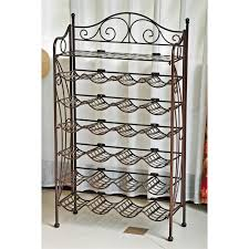 design wrought iron wine racks med art home design posters