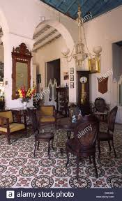 Colonial Interior by The Interior And Furniture Of A Typical Colonial Home Dating From