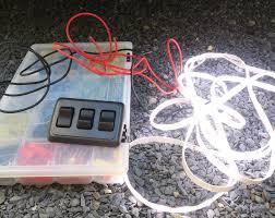 van life how to 12 volt led light strip install campervan rv