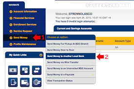 Planters Online Banking by Transfer Funds To Other Bank Account Using Bdo Online Banking