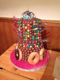 finished birthday cake night birthday cakes
