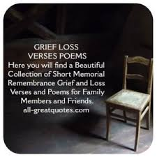 memorial poems for in loving memory grief loss verses and poems family members friends