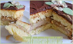 comment cuisiner un gateau au chocolat gâteau génoise crème chocolat café recettes faciles recettes