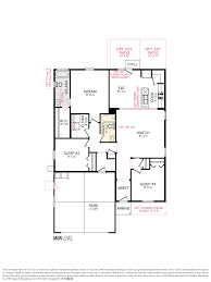Floor Plan Layout by Cbh Homes Langton 1502 Floor Plan