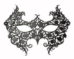 masquerade mask costumes for halloween black laser cut leather lace masquerade mask costume poison ivy