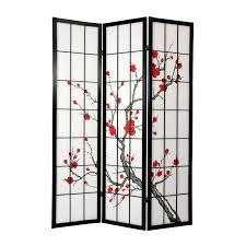 shoji room divider oriental furniture cblss cherry blossom shoji screen room divider