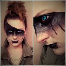 Halloween Devil Eye Makeup Mad Max