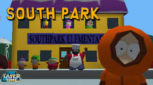 retro south park let s do this laser time