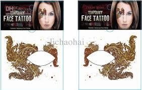 rocking face u0026amp body tattoo sticker temporary tattoos eye