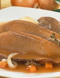 cuisine langue de boeuf recette langue de boeuf sauce madère pour 4 personnes grand frais